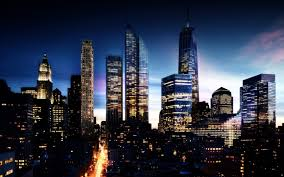 New York At Night Wallpaper The Wallpaper by New York Skyline At Night Wallpaper Wide 1680x1050 Oni Dj U0027s