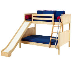 Bunk Bed With Slide And Tent Maxtrix Slick Bunk Bed With Slide Bed Frames