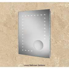 messina luxury designer illuminated led dot bathroom mirror with
