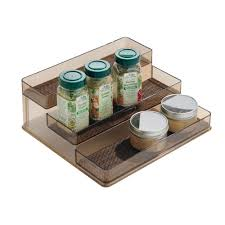 amazon com interdesign twillo spice rack organizer for kitchen