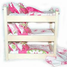 18 Inch Doll Bunk Bed Double Doll Bunk Bed Kumani Garden American Furniture