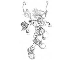 kingdom hearts coloring pages kingdom hearts colouring pages 19321