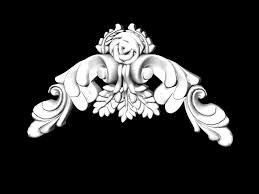 decorative plaster ornament 3d model 3ds max files free