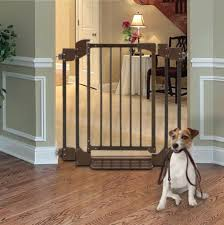 dog gates for stairs small choosing ideal dog gates for stairs