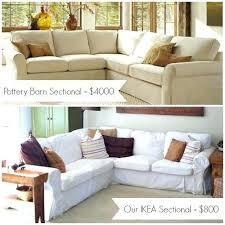 pottery barn sofa bed ottoman ottoman slipcover pottery barn sofa comparison chair and