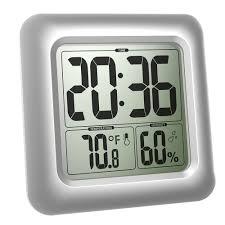 aliexpress com buy baldr waterproof bathroom clock lcd digital