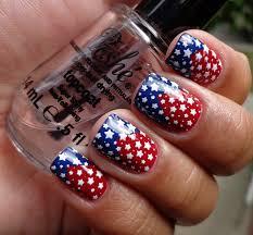 fourth july nail art designs 4th of july nail art tutorial pretty