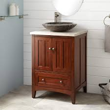 Bathroom Vanities For Vessel Sinks by Espresso Finish Vessel Vanity Signature Hardware