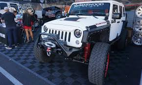 starwood motors sema 2016 jeep roots run deep at vegas show autonxt