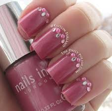 posh bedazzling fingernails with more than nail polish
