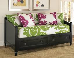 twin day bed with storage design living room with twin day bed