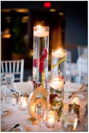 Wedding Centerpieces Floating Candles And Flowers by Orchids U0026 Floating Candles Centerpiece By My Dream Fiesta Weddings