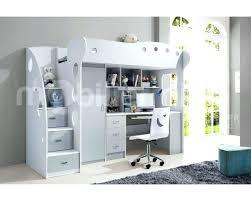 bureau gris blanc bureau gris et blanc lit mezzanine et bureau lit large choix prix