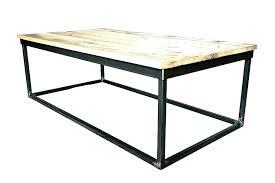 metal frame coffee table metal frame coffee table madehandinaustin glass coffee table black
