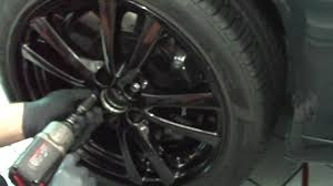lexus isf calipers factory 18x8 5 rear wheels on the front of an is with is f brembo