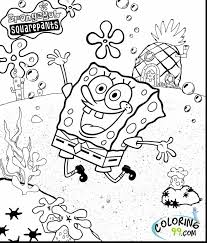 impressive spongebob squarepants coloring pages printable with