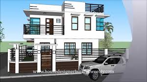 two story house design with rooftop modern hd
