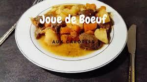 cuisiner une joue de boeuf joue de bœuf aux carottes cookeopassion