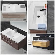 luxury lavatory pedestal wash basin free standing bathroom