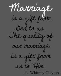 wedding quotes best speech to keep in mind we live for him not each other