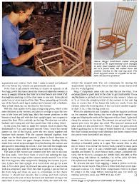 Rocking Chair Runners Build Rocking Chair U2022 Woodarchivist