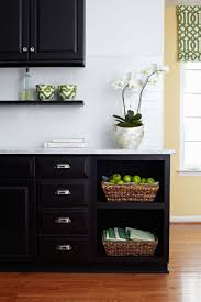 102 best black kitchen cabinets images on pinterest kitchen