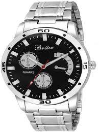 Britex Stainless by Britex Bt6081 Continental Watch For Men Buy Britex Bt6081
