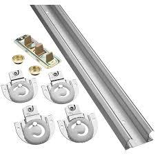 Closet Door Latches Sliding Closet Door Hardware Cabinet Track Kit Bifold How To