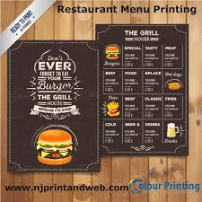 Menu Covers Wholesale 270 Best Restaurant Menu Printing Images On Pinterest Menu