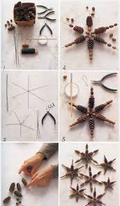 diy pinecone ornaments pictures photos and images for