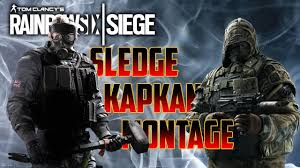 epic sledge u0026 kapkan killstreak montage rainbow six siege velvet