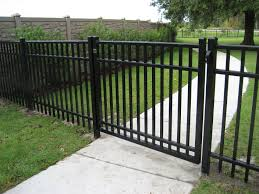 steel ornamental bravo fence
