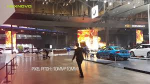 pixel car transparent nexnovo transparent led screen at 2016 busan auto show korea youtube