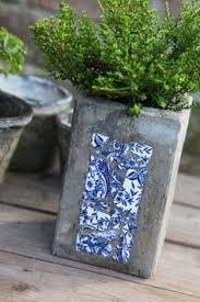 diy u2013 how to paint pots to look like faux cement concrete planters