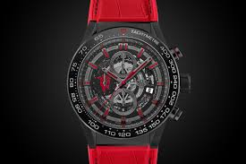 tag heuer carrera tag heuer carrera 01 manchester united red devil watch bqw blog