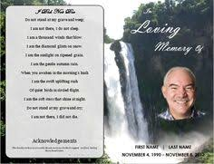 funeral card template memorial card template free word template of this