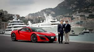 honda supercar first european nsx delivered to ex ceo of honda switzerland