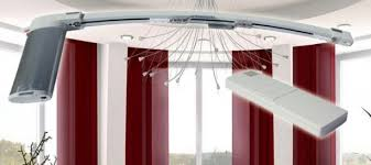 Motorized Curtain Rail Curtain Tracks U0026 Drapery Track Systems Curtain Tracks For