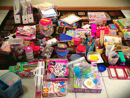 organizing children s craft area