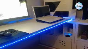 led bureau magnifique bureau gamer meuble maxresdefault beraue ordinateur pour