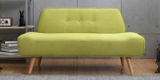 Buy Two Seater Sofa Buy Two Seater Sofa In Brown Colour By Furncoms Online Two