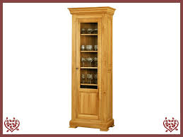 Oak Glazed Display Cabinet Manor Collection Paul Martyn Furniture