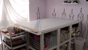 sewing cutting table ikea how i organized my sewing room custom style