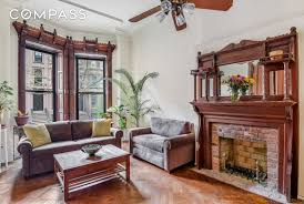 parlor floor of an 1800s park slope brownstone is now a 1 5m two