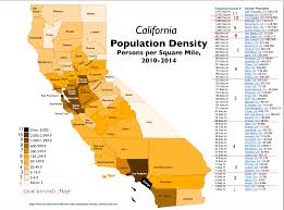 California Zip Code Map by California Population Map California Map