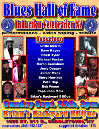 local blues talent of new york bhf induction poster sept 25 2011 jpg