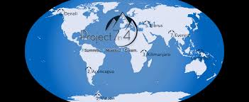 Seven Continents Map Project 7in4 7 Summits World Speed Record Attempt By Steve Plain