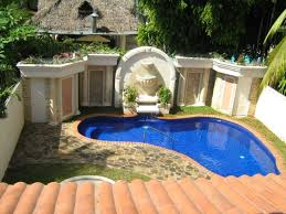 Very Small Backyard Landscaping Ideas by Pool Designs For Small Backyards Entracing Natural Pool Designs
