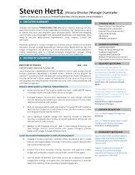 Employee Engagement Resume Cover Letter Sample Director Of Finance Resume Sample Director Of