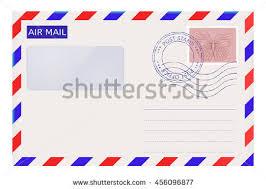 striped letter set letter envelope stamps stock vector 51553387